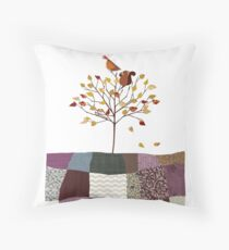 4 Season Series - Autumn Throw Pillow