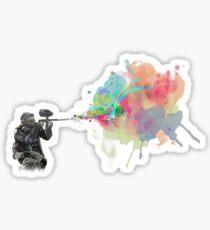 Plume of Paint Sticker