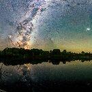 Henry Lake New Zealand unter den südlichen Hemisphäre-Himmeln von Olena Art. von OLena  Art ❣️