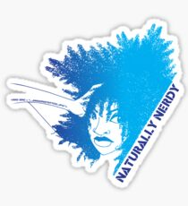 Naturally Nerdy Glossy Sticker