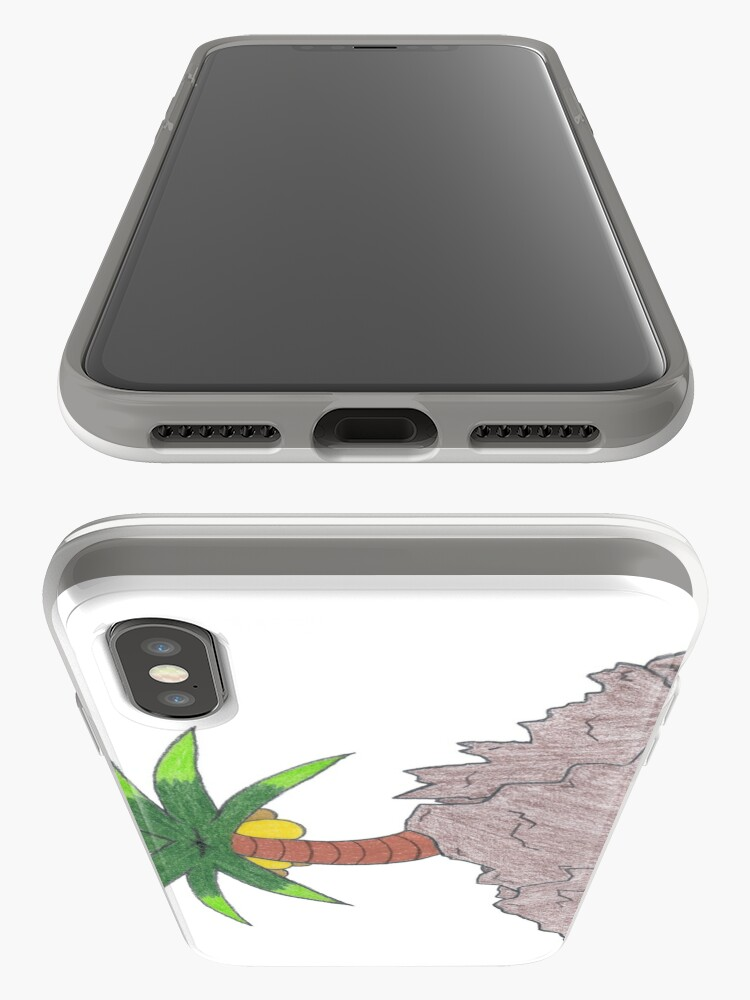 Alternate view of Merch #19 -- Palm Atop The Rugged Embankment iPhone Cases & Covers