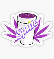 Codeine,Sprite + Weed Sticker