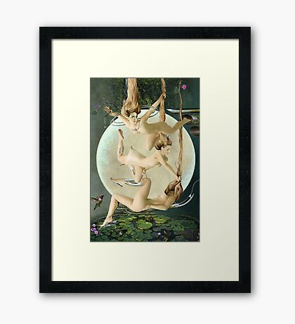 The Beauties Of Nature Framed Print