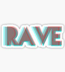 RAVE Sticker