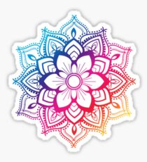 Warmes Mandala Sticker