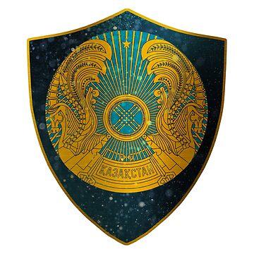 Kazakstan Coat of Arms by ockshirts