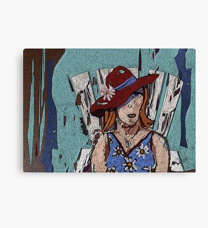 Door County Woman Canvas Print