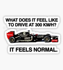 On Driving at 300Km/h Sticker