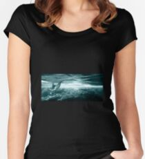 Dolphin Reef Women's Fitted Scoop T-Shirt