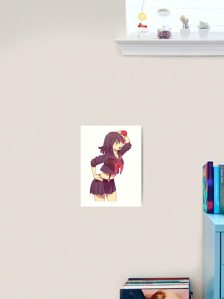 Ryuko Matoi Cute Design Art Print
