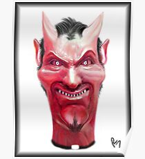 Satan is always watching over everyone... Poster