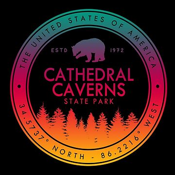 Cathedral Caverns State Park Alabama Souvenirs by fuller-factory