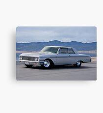 1962 Ford 'Custom' Galaxie Canvas Print