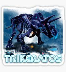 Trikeratos Sticker