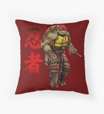 Red Power Throw Pillow