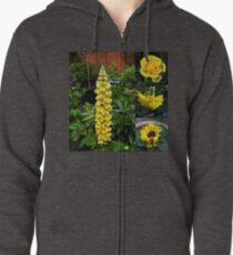Frühlings- und Sommerblumen-Collage Kapuzenjacke