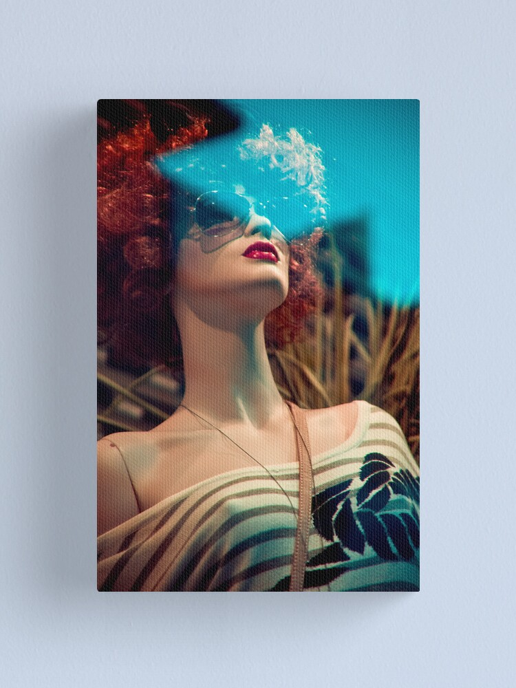 Alternate view of Shopwindow fashion Canvas Print
