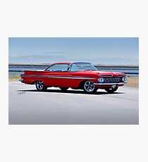 1959 Chevrolet Impala Photographic Print