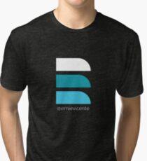 """E"" Logo Shirts  Tri-blend T-Shirt"
