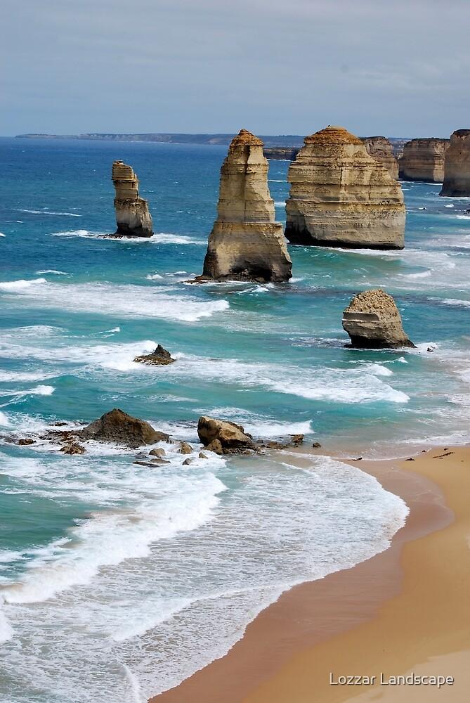 Australische Erfahrung, 12 Apostel, Great Ocean Road von Lozzar Landscape