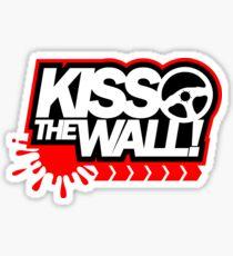 Kiss the wall! (1) Sticker