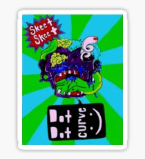Acidic Zombie Sticker