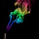 Smoke Abstract 1 by Danny Clarkson