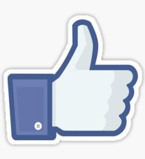 Facebook 'like' button Sticker