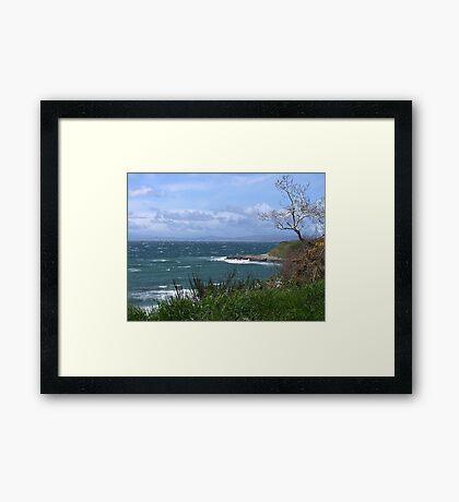Whitecaps Framed Print