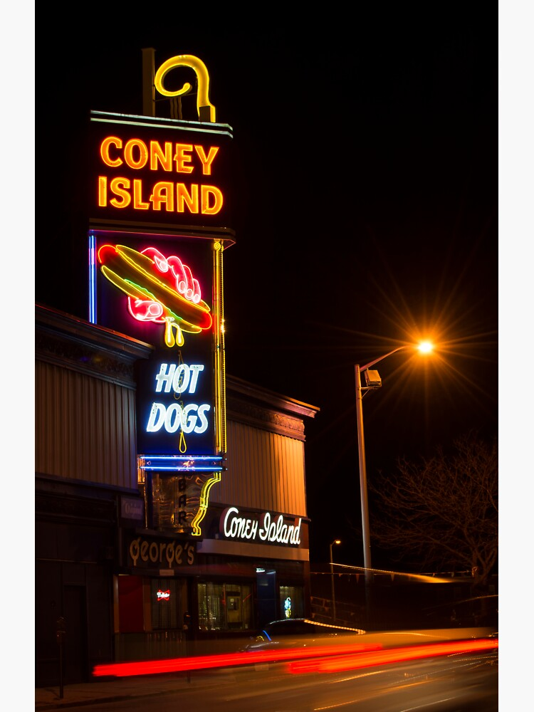 The Famous Coney Island In Worcester  by italofini24
