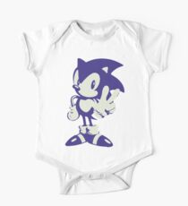 Minimalist Sonic Kids Clothes