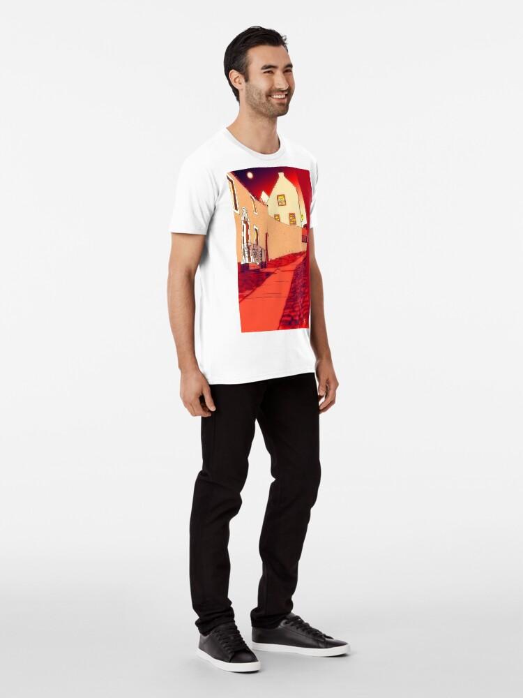 Alternate view of Dysart: Scottish Town digital drawing Premium T-Shirt