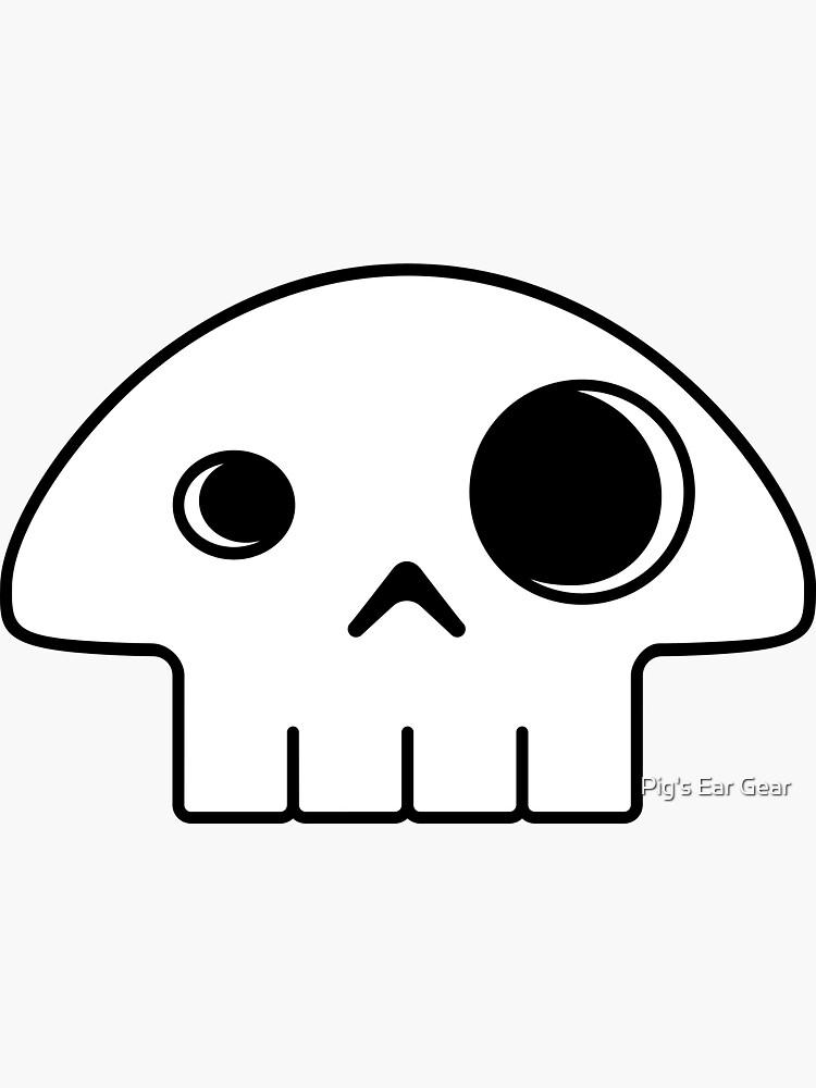 Mushroom Skull by adorman
