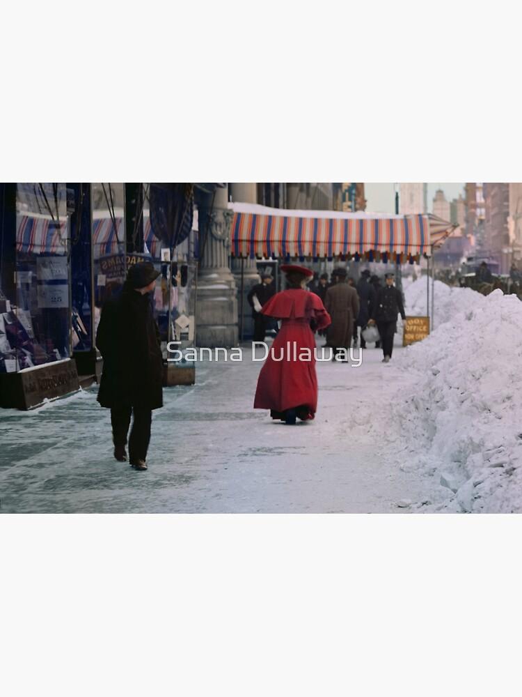 Woman in red by SannaDullaway