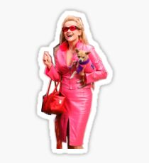 Elle Woods Legally Blonde Bruiser Chihuahua Sticker