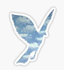 Surrealist Bird Sticker