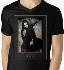 Ravnos - Black Men's V-Neck T-Shirt