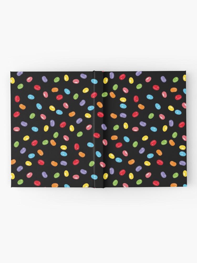 Alternative Ansicht von Ostern Jelly Beans Bonbons Süßigkeiten Osterfest Notizbuch