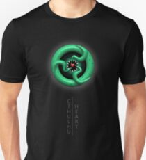 Cthulhu Heart (with text) Unisex T-Shirt