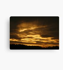 Eugene sunset Canvas Print