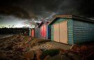 Dark Beachboxes by Sean Farrow