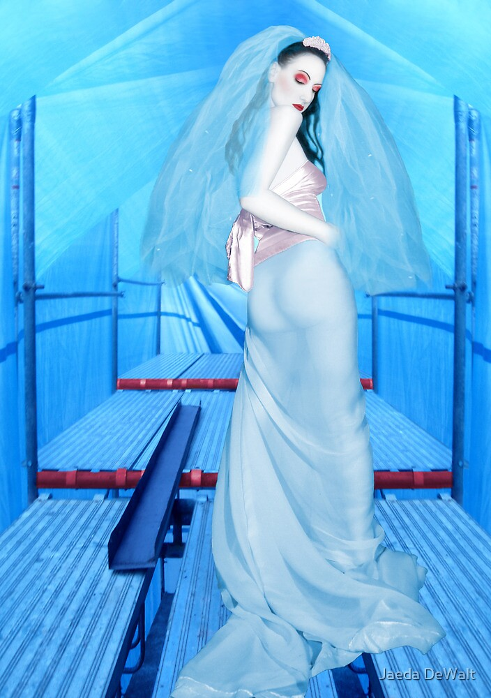 The Bride of Innocence - Self Portrait by Jaeda DeWalt
