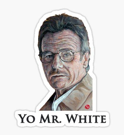 Yo Mr. White Sticker