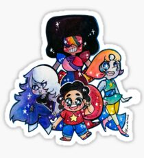 We....are the crystal gems! Sticker