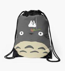 Cute Totoro  Drawstring Bag