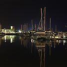 Marina at 11pm by Brett Keith