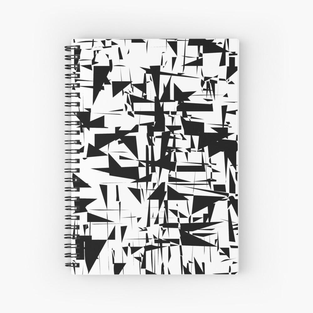 Modern art Spiral Notebook