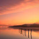 Loch Lomond square sunrise by David Mould