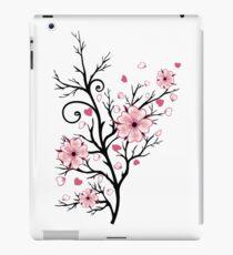 Kirschbaum Kirschblüten mit Herzen Sakura Frühling iPad-Hülle & Skin