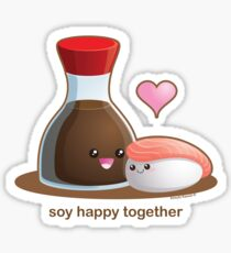 Soy Happy Together Sticker